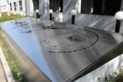 マチカネワニ発掘の碑