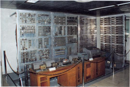 国産1号の電子計算機〔ディジタル型電子計算機(試作機)〕