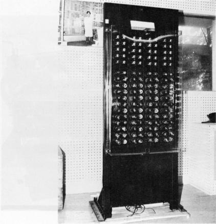 ENIACの模型