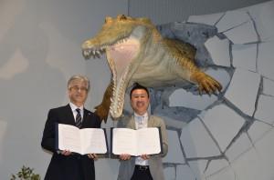 総合学術博物館×ニフレル 連携協定を締結